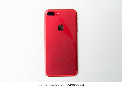 Red Iphone 7 High Res Stock Images   Shutterstock