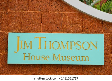 Bangkok, Thailand - May 27 2019: The Jim Thompson House is a museum in central Bangkok, Thailand, housing the art collection of American businessman and architect Jim Thompson.