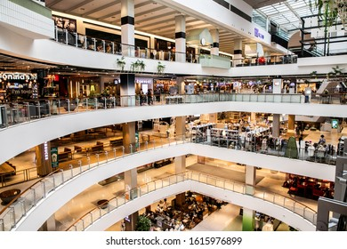 BANGKOK, THAILAND, MAY 28, 2019: interior view of the Central World shopping center, Bangkok, Thailand
