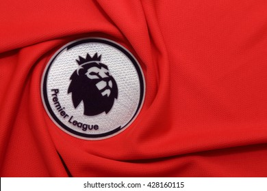 BANGKOK, THAILAND - MAY 29, 2016: the logo of the new english premier league logo on May 29. 2016 in Bangkok Thailand.