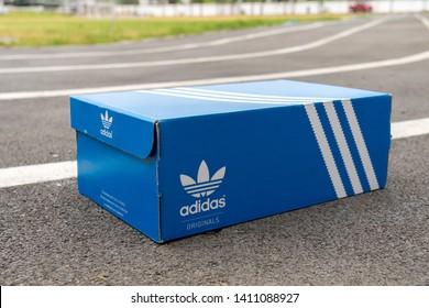 Adidas Box Images, Stock Photos