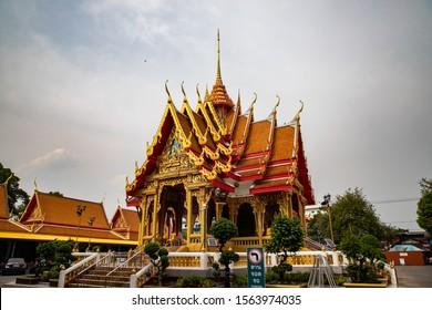 BANGKOK, THAILAND, MAY 5, 2018: Maha But Temple, (Mahabut Temple) Mae Nak Shrine, Bangkok, Thailand