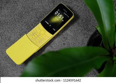 BANGKOK THAILAND : Nokia 8110 4G launch on June 29 ,2018 bangkok ,thailand