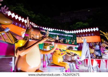 bangkok thailand november 23 2017 centralworld shopping mall at night the