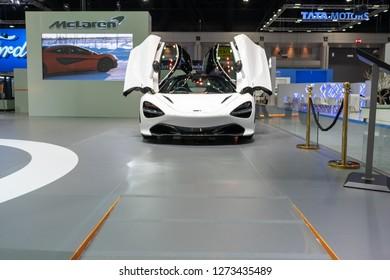 Bangkok, Thailand - November 30, 2018 :  PORSCHE car show at Thailand International Motor Expo 2018 (MOTOR EXPO 2018) on Nov 30,2018 in Bangkok, Thailand.