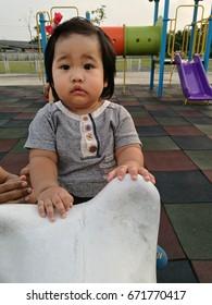 "BANGKOK, THAILAND - October 15, 2016 : Cute Baby in THAILAND """