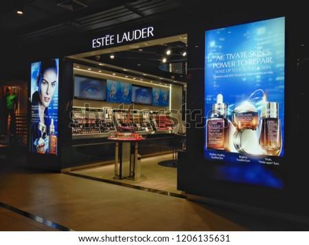 cff3e1993a8 Bangkok Thailand October 18 2018 Lauder Stock Photo (Edit Now ...