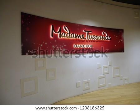 a122b5f095f Bangkok Thailand October 18 2018 Madame Stock Photo (Edit Now ...