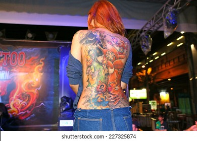 Female Body Tattoo Designs Images, Stock Photos & Vectors | Shutterstock