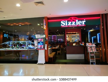 BANGKOK, THAILAND. – On May 11, 2018 - Sizzler restaurant and steakhouse with salad bar.
