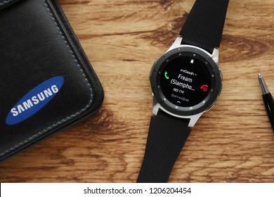 BANGKOK THAILAND : Samsung launch Galaxy Watch on September 11 ,2018 bangkok ,thailand
