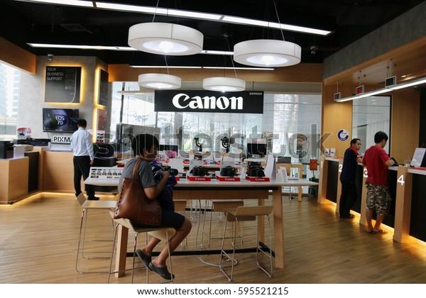 Bangkok Thailand September 12 2016 Canon Stock Photo (Edit Now