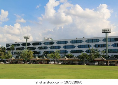 Bangkok, Thailand - September 16, 2016: Faculty of Commerce and Accountancy at Thammasat University was the second oldest business school in Thailand.