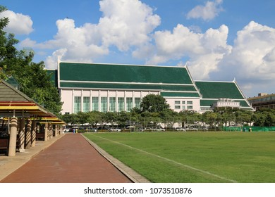 Bangkok, Thailand - September 16, 2016: Thammasat University is Thailand's second oldest institute of higher education. It was established to be the national university of Thailand on June 27, 1934.