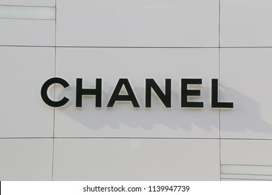 Bangkok, Thailand - September 18, 2016: Chanel S.A. is a French high fashion company specializing in clothes and fashion accessories.