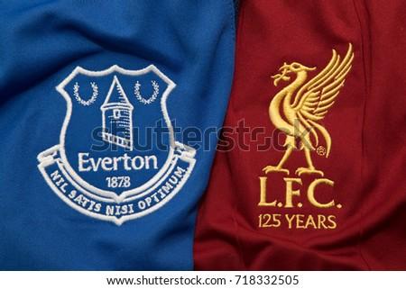 3defbee66e9 BANGKOK THAILAND SEPTEMBER 19 Logo Liverpool Stock Photo (Edit Now ...