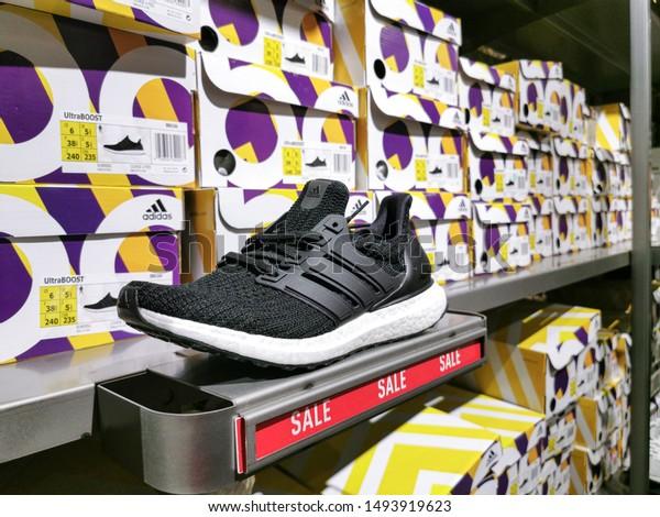 Bangkok Thailand September 2019 Adidas