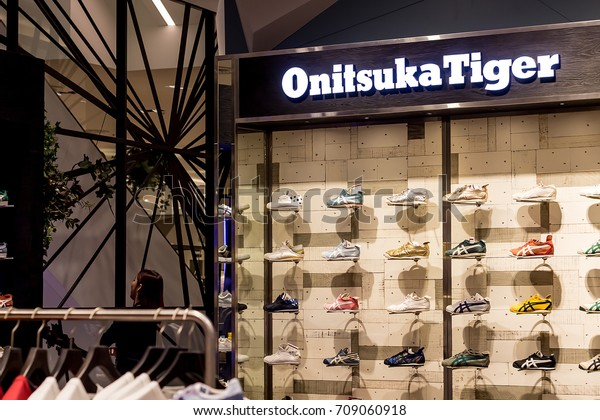 buy popular b144e 229ea Bangkok Thailand September 3 2017 Onitsuka Stock Photo (Edit ...