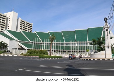 Bangkok, Thailand - September 9, 2016: The United Nations building complex is the 3rd largest complex owned by the United Nations and one of the largest convention facilities in Asia.