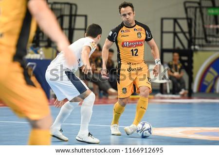 BANGKOK THAILAND-AUG28 Falcao of Magnus Futsal in action during World  Intercontinental Futsal Cup d4b4265966b4d