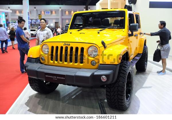 Bangkok Thailandmarch 25 Jeep Wrangler Sahara Stock Photo Edit