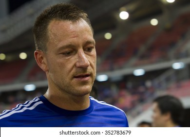 BANGKOK ,THAILAND:MAY 30:John Terry of Chelsea inThe Singha Chelsea FC Celebration Match between Chelsea FC and THAILAND Nation at Rajamanggala Nationnal Stadium,Bangkok, Thailand.