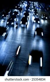 Bangkok Traffic at Night