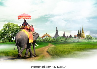Bangkok travel concept