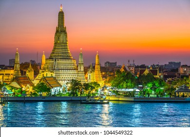 Bangkok Wat Arun, The Temple of Dawn,  Bangkok, Thailandia.