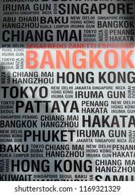 Bangkok World signage