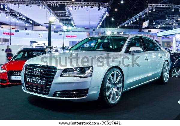 Bangkokdec 01 Mtm Audi A8 On Stock Photo Edit Now 90319441