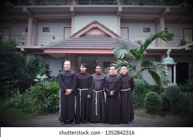 BANGKOK-JAN 10 : Franciscan missionaries had gathering with the Franciscan friars of Asia in Franciscan formation house in Thailand on Jan 10, 2019 in Bangkok Thailand