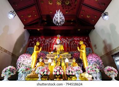 Bangkok,THAILAND - December 31: 2017 Travel Thailand: Ayutthaya Province Thailand.