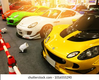 Bangkok,Thailand - February 2, 2018 Image Of Supercars Event Show In Exhibition , Thailand - Editorial Use Only.