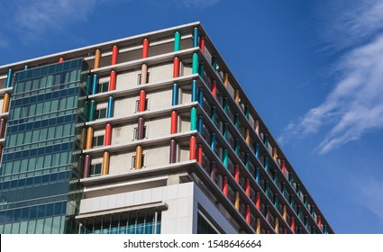 Bangkok,Thailand -January 10 2018 : Siriraj hospital buildings