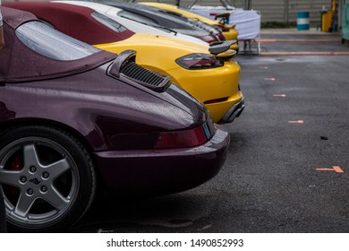 BANGKOK,THAILAND - July 14,2018: Porsche at Sportscar Together Day 70 Years of Porsche event on july 14,2018 in Bangkok Thailand