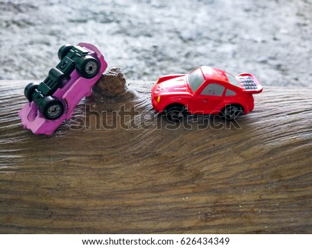 Bangkok Thailand Apr 222017 Toy Cars Simulation Car Stock Photo