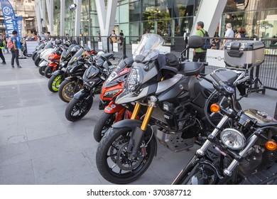 Bangkok,Thailand-January 31,2016; The Big Bike Bangkok 2016 festival , Show motorcycle from biker around Bangkok at  World Trade Center