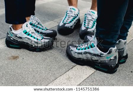 5ee41ce1de1f1 BANGKOKTHAILANDJULY 312018 NEWEST PRODUCT SHOT Nike Street Stock ...