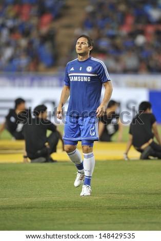 BANGKOKTHAILANDJULY 17 Frank Lampard Chelsea Warming During Stock ... 011075a6c