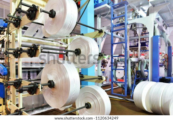 Bangkokthailandjune 212018 Automated Production Line Plastic