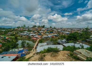 Bangladesh Cox Bazaar Arakan Camps. Rohinya muslims