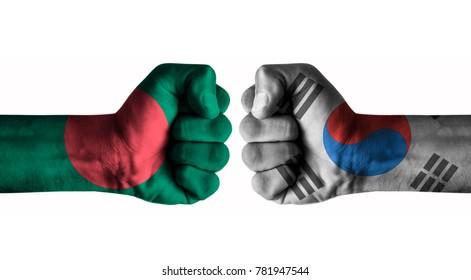 Bangladesh vs Korea south