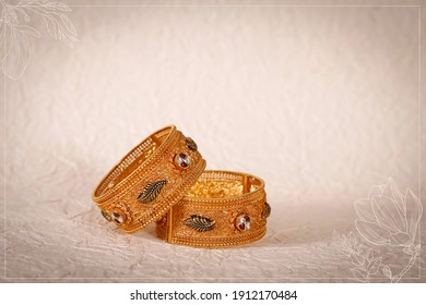 bangles for bride Indian wedding  - Shutterstock ID 1912170484