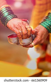 bangles set in hand