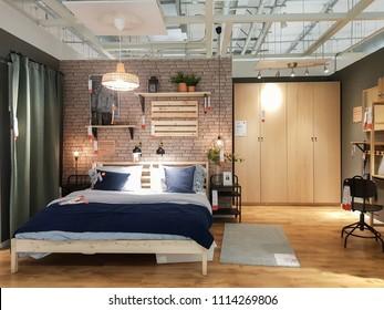 Ikea Bedroom Images, Stock Photos & Vectors   Shutterstock
