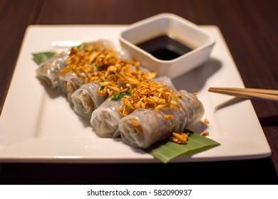 Banh Cuon Chay, Vietnamese appetizer