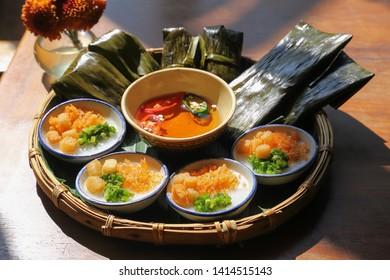 Banh Nam Flat Steamed Rice Dumpling