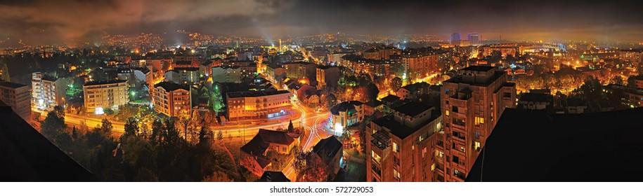 Banja Luka Panorama - Shutterstock ID 572729053