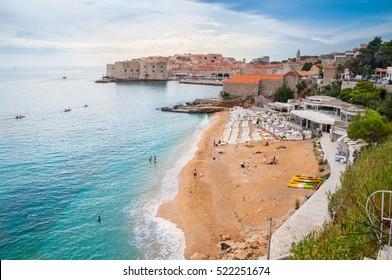 Banje Beach Dubrovnik, Croatia